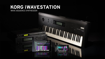 KORG iWAVESTATION Screenshot