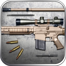M110 the Sniper Rifle Gun Builder and Shooting Game by ROFLPlay