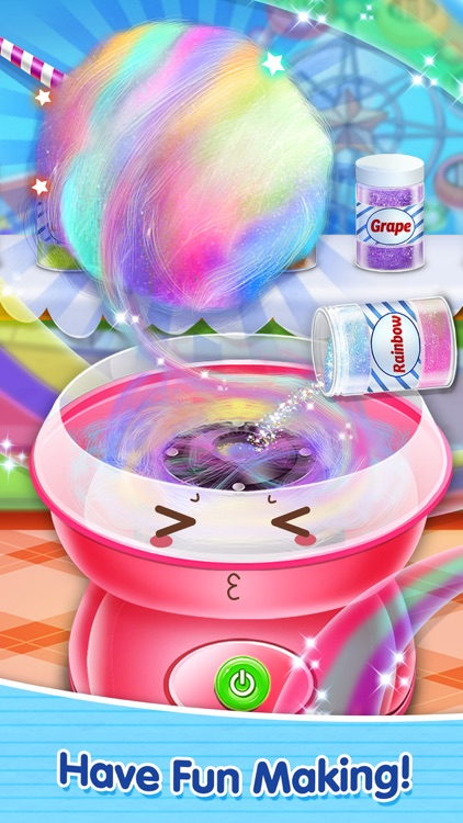 Sweet Cotton Candy Mania! - Yummy Desserts Maker
