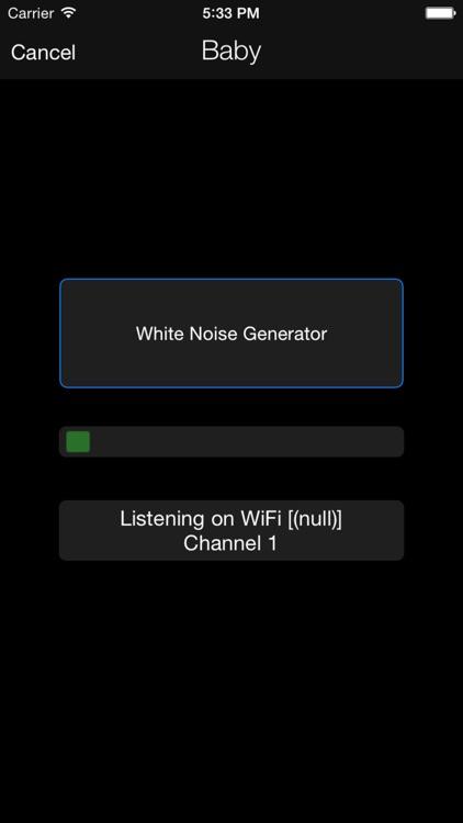 iSitter Baby Monitor - WiFi / Bluetooth / LTE screenshot-3