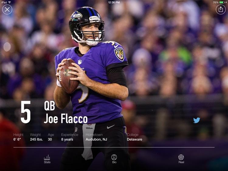 Baltimore Ravens Tablet screenshot-3