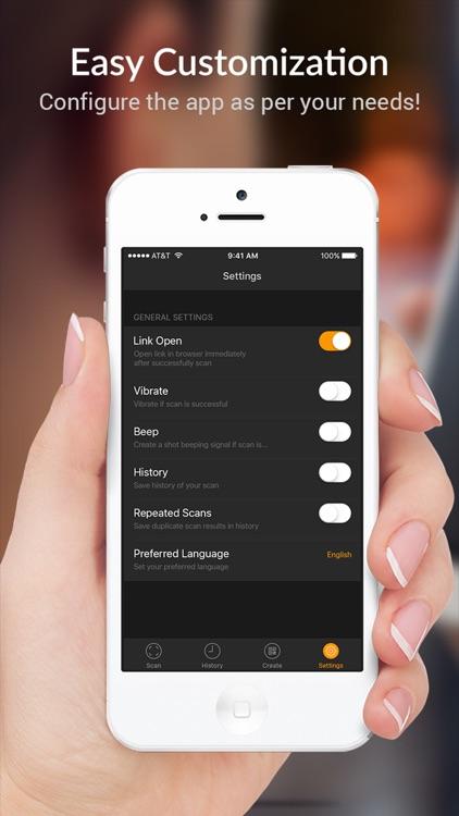 QR Scanner - QR Code Reader and Barcode Scanner screenshot-4