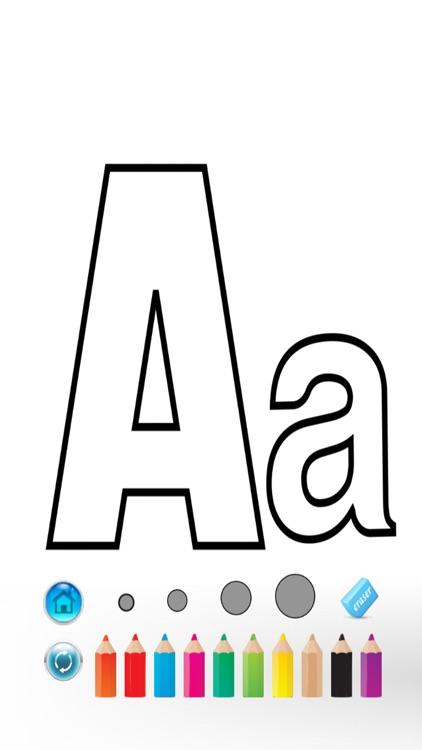 ABC Alphabet Color Book