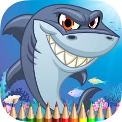 Buku Mewarnai Sea Animal Hd Belajarlah Untuk Melukis Dan Mewarnai