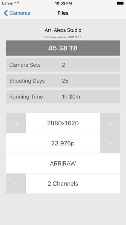 Camera Files screenshot-3