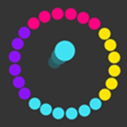 Color Jumper - Change, rotate & Swap a colorful splash circle wheel