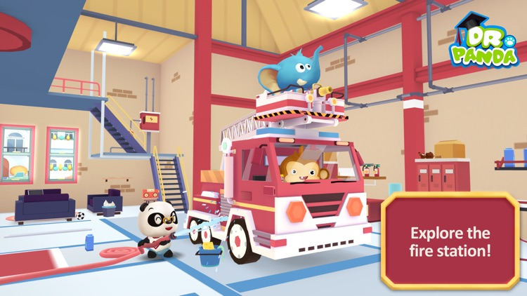 Dr. Panda Firefighters