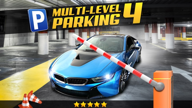 Multi Level 4 Car Parking Simulator a Real Driving Test Run Racing Games screenshot-0