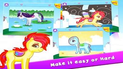 Pony Puzzles: Jigsaw Puzzles for Kids and Toddlers screenshot four