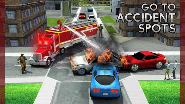 Rescue Fire Truck Simulator Game: 911 Firefighter on the App