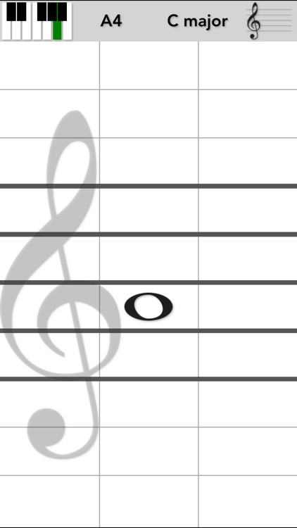 VoiceMyNote - Play tones by tapping the note sheet