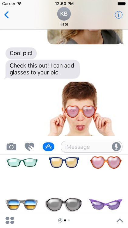 Glasses Stickers