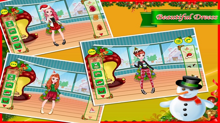 Christmas Party Makeover - game for kids and girls