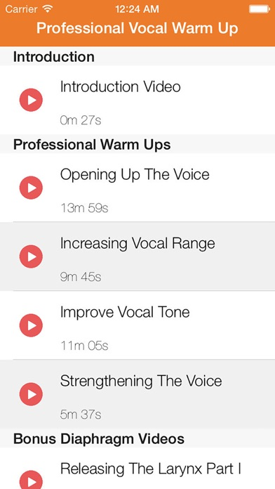 Professional Vocal Warm Up - Step by Step Videos