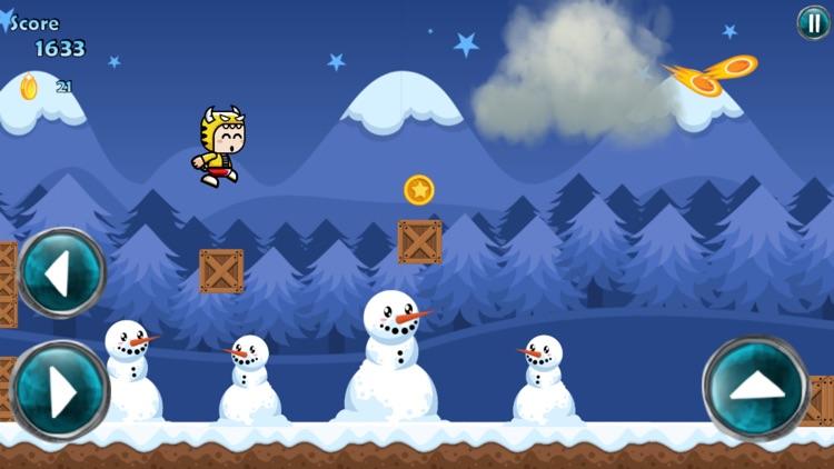 Running Mascot Winter World screenshot-3