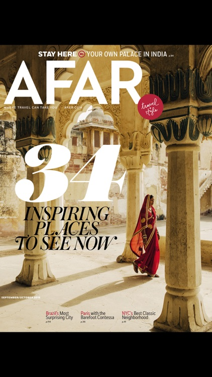 AFAR Magazine: Where Travel Can Take You