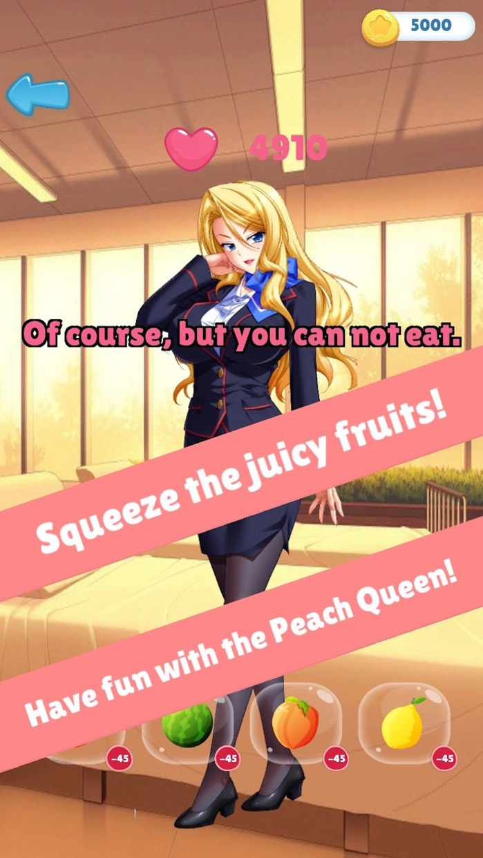Secrets of Peach Queen - love games only for adult Screenshot