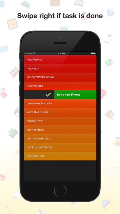 My List - Gesture Driven To Do List | Task Manager