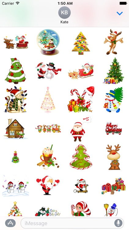 Funny Christmas Stickers for iMessage