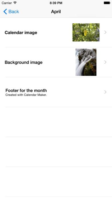 calendar maker 2018 catchapp iphoneアプリ ipadアプリ検索