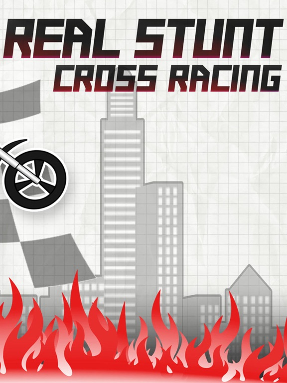 Real Stunt Racing-The Doodle Bike &Car Chase Games-ipad-1