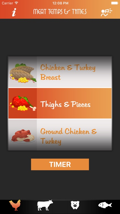 Meat Temps & Times screenshot-1