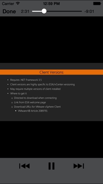 LearnFor vSphere6 screenshot-4