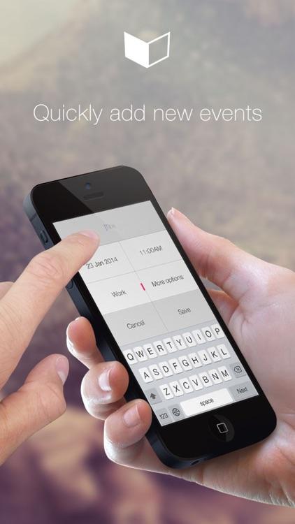 CalCube - Quick & Easy Calendar