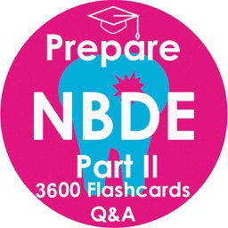 Prepare NBDE Part 2 Test - 4300 Flashcards Study Note & Quiz for The National Board Dental Examination