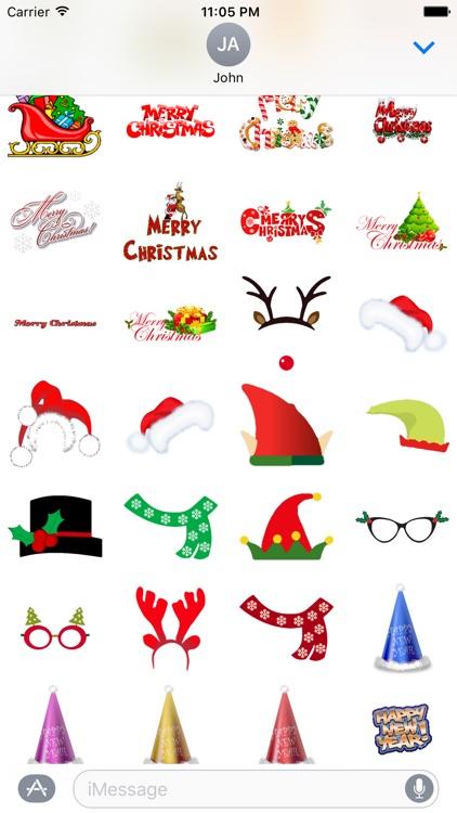 ChristmasGifs! 150+ Christmas Stickers