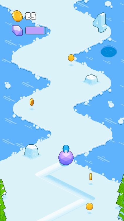 Snow Roll screenshot-2