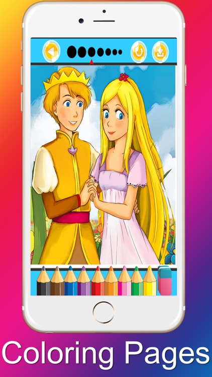 Princess Coloring Pages Beauty and the Beast