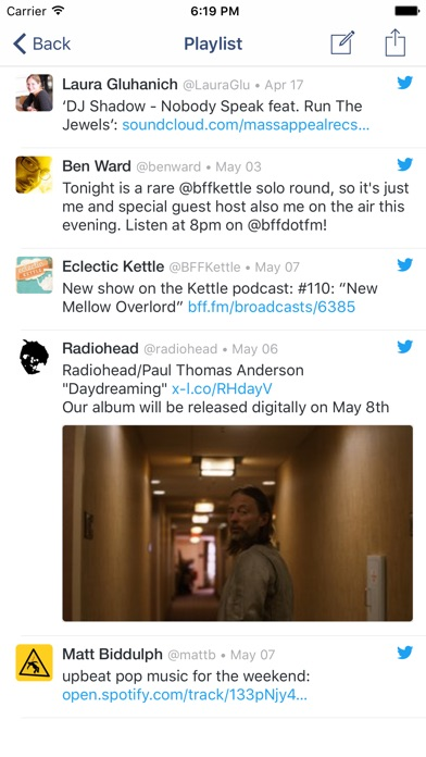 Charm for Twitter: Collect and curate Tweets Screenshot