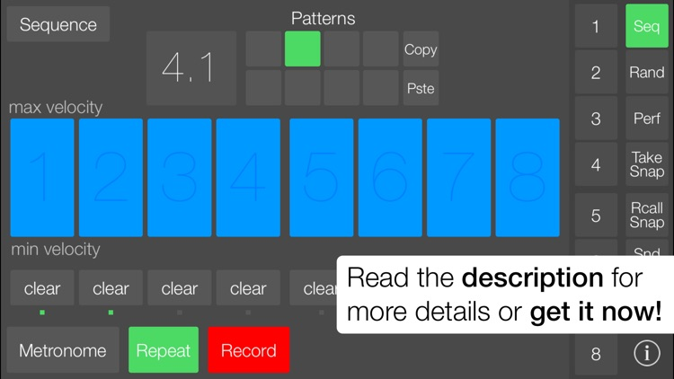 SeekBeats Drum Machine Synth screenshot-4