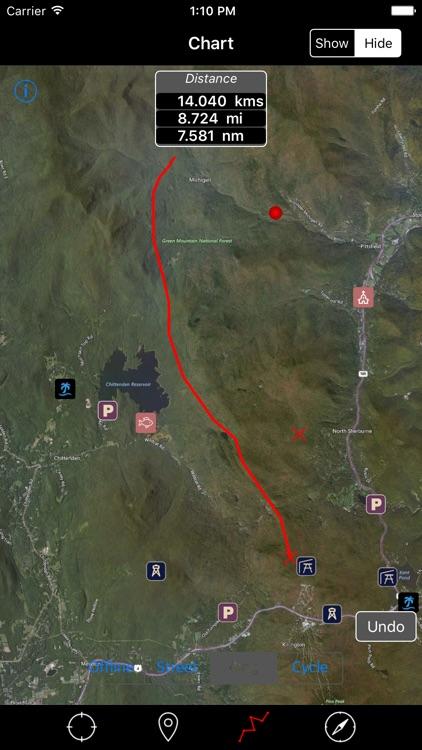 Green Mountain National Forest – Offline Navigator