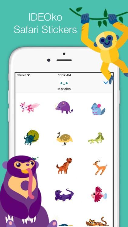IDEOko Safari Stickers screenshot-0