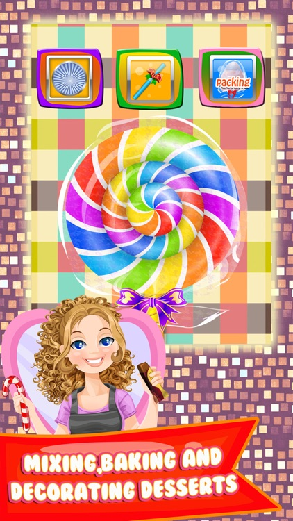Candy Dessert Making Food Games for Kids screenshot-2