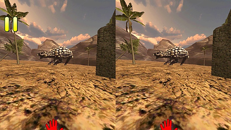 VR Jurassic Land Tour Cardboard Game screenshot-4