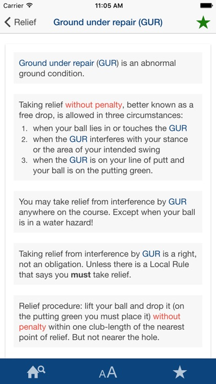 All The Rules Of Golf