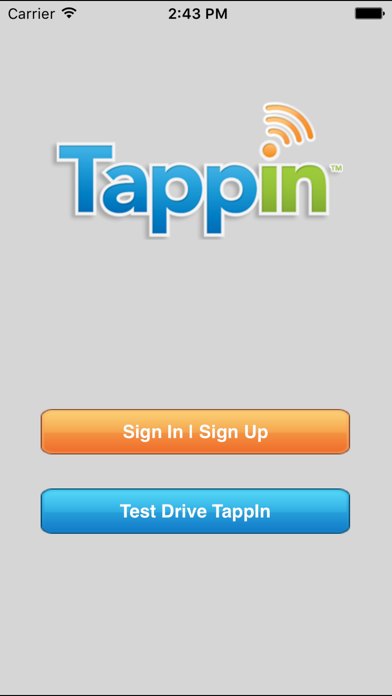 TappIn for iPad screenshot one