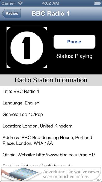 UK Radio Live (United Kingdom) screenshot three