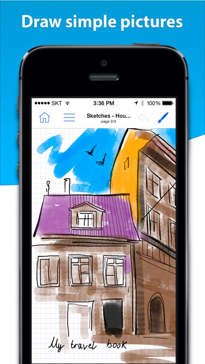 Notes HD for iPhone - Notes, PDF, Drawing screenshot-1