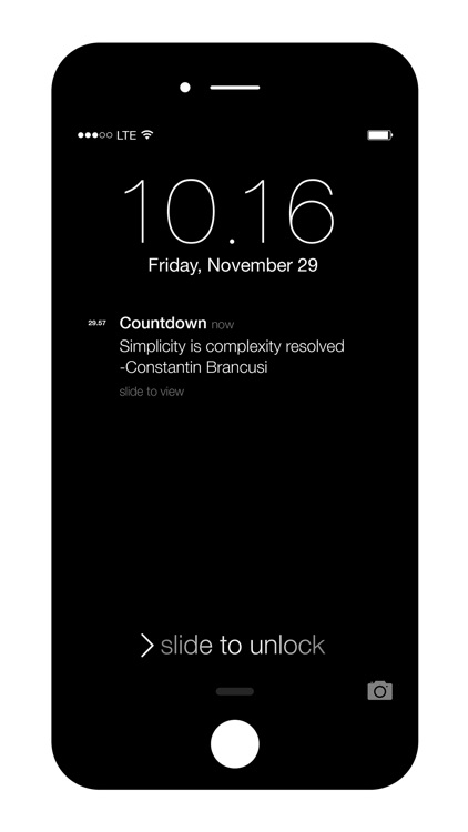 Liten Countdown - Minimal Countdown Timer screenshot-3