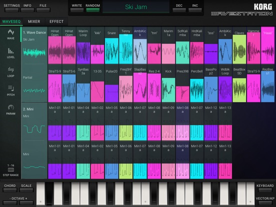 Screenshot #5 pour KORG iWAVESTATION