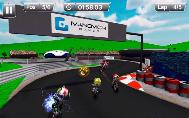 MiniBikers: The game of mini racing motorbikes screenshot 4