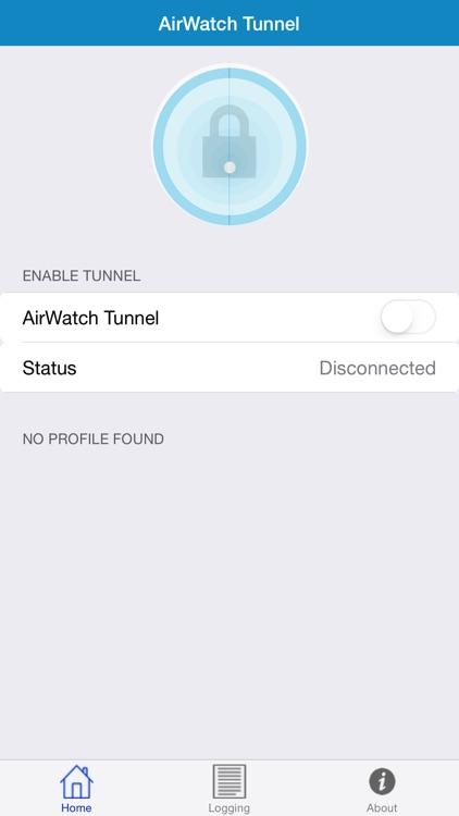 AirWatch Tunnel