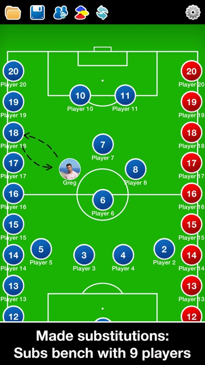 Coach Tactic Board: Soccer