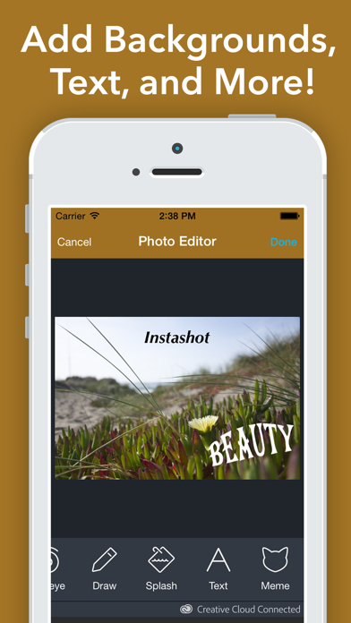 Insfit - No Crop Blur Background for Instagram Screenshot