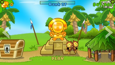 Screenshot of Bloons TD 5 App