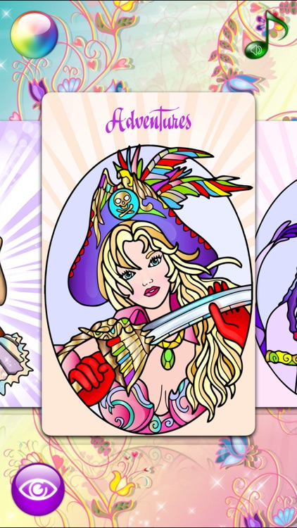 Fashion Coloring Book for Adults with Girls Games screenshot-4